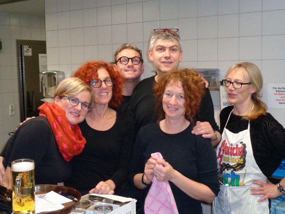 Niklaus-Jazz in Bad Saulgau, Catering zu Gunsten von BuKi durchgeführt.