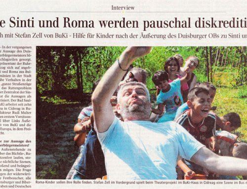 Interview mit Stefan Zell: Sinti und Roma werden pauschal diskreditiert