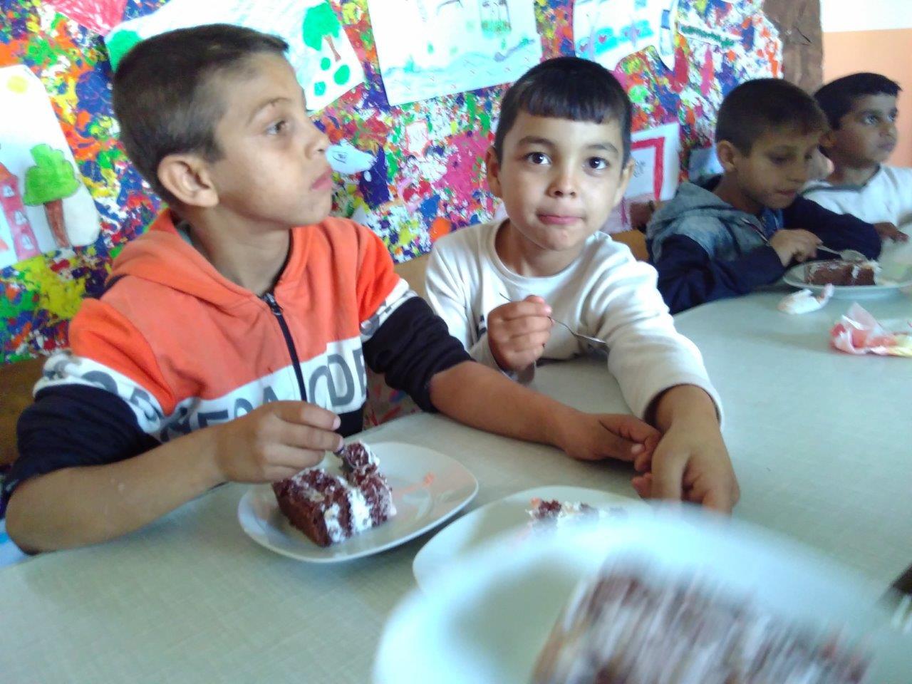 Torte im BuKi-Haus