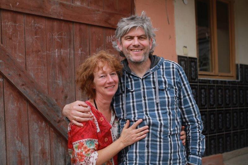 Heidi Haller und Stefan Zell im BuKi-Haus