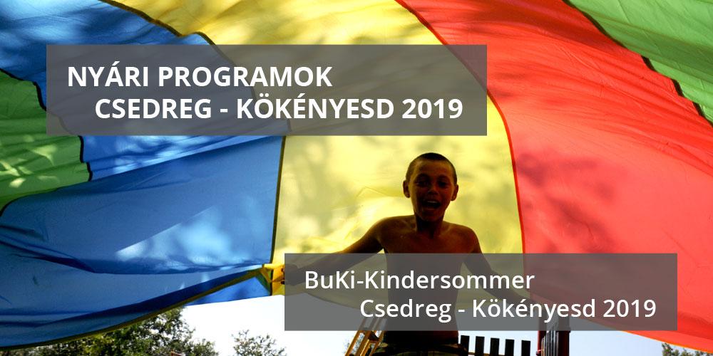 Kindersommer Csedreg-Kökenyésd 2019