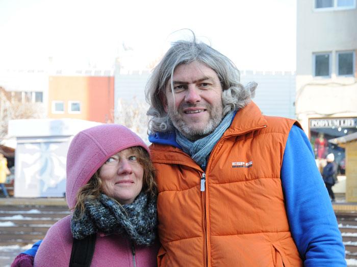 Stefan Zell und Heidi Haller