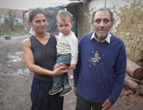 Dramatische Lage im Roma-Viertel