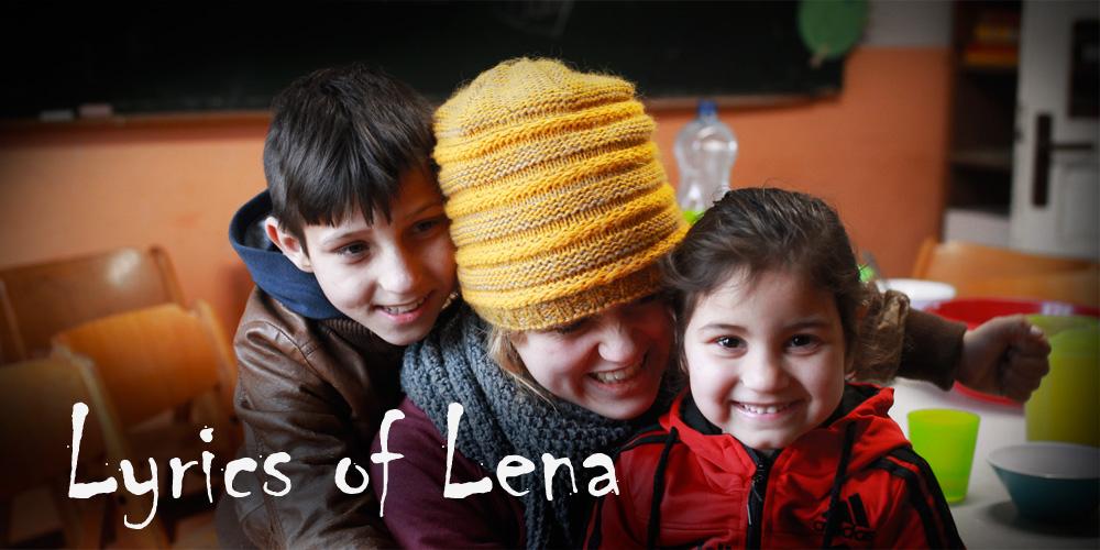 Lena Schmitt Poetry mit BuKi-Kindern