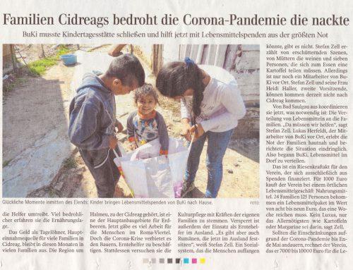 Schwäbische Zeitung – Spendenaufruf
