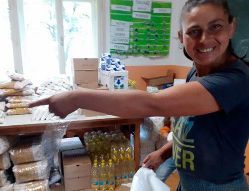 Spender haben große Lebensmittelnothilfe ermöglicht