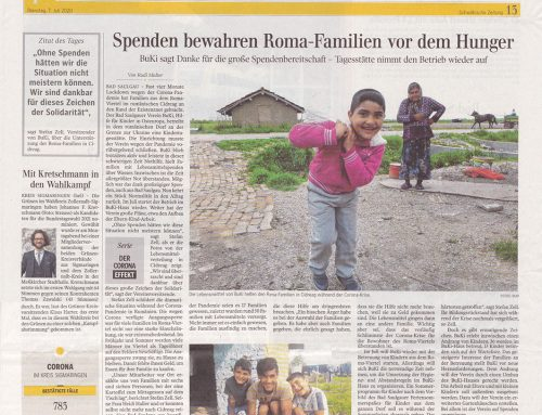 Schöner Beitrag in der Schwäbischen Zeitung über BuKi