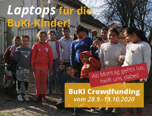 Laptops für die BuKi-Kinder