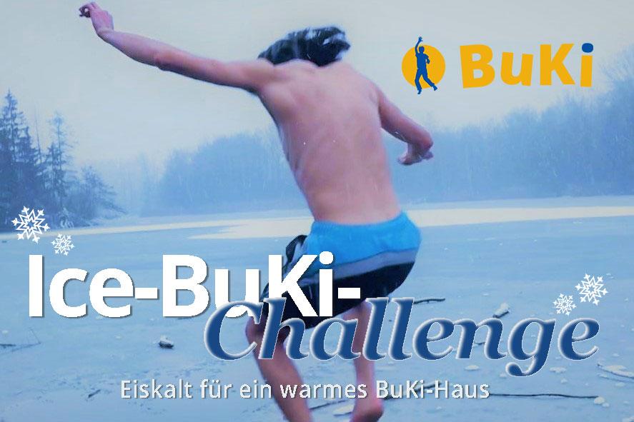 Für BuKi spenden mit der Ice-BuKi-Challenge