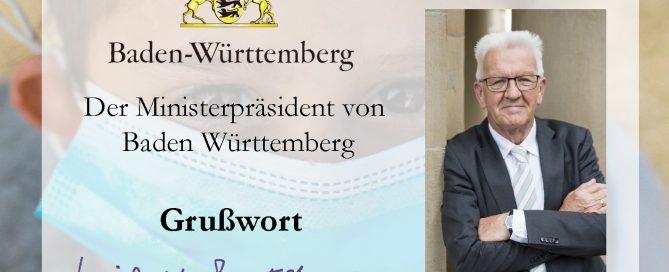 Grußwort von Winfried Kretschmann zum 10-jährigen Bestehen von BuKi