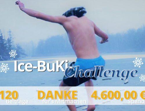 Großer Erfolg der Ice-BuKi-Challenge