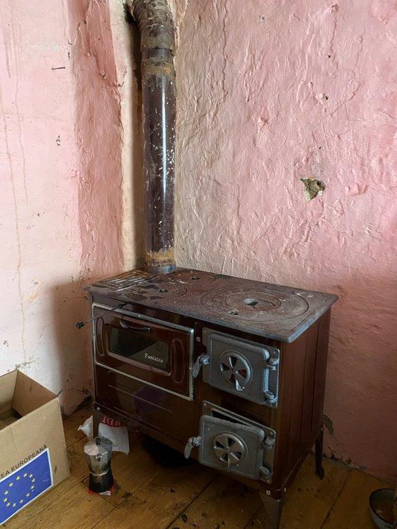 Neuer Ofen und Kamin bei Dantin