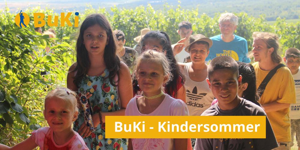 Integration Kindersommer Romakinder