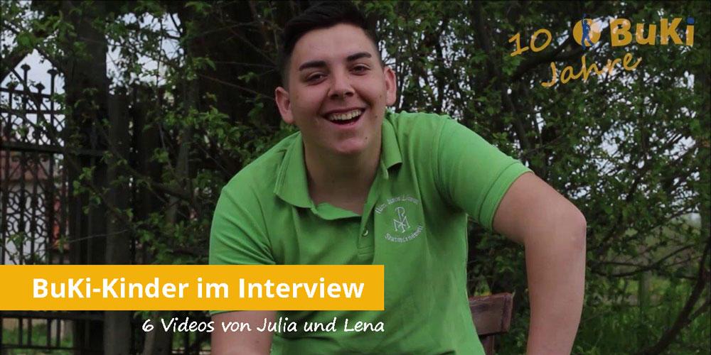 10 Jahre BuKi-Haus in Cidreag Interviews mit Kindern
